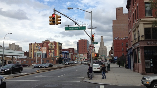 Blick in Richtung Downtown Brooklyn.