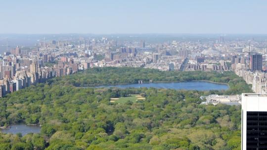 Blick nach Norden über den Centralpark.