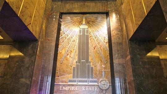 Auch im Inneren eine Schönheit, das Empire State Building.