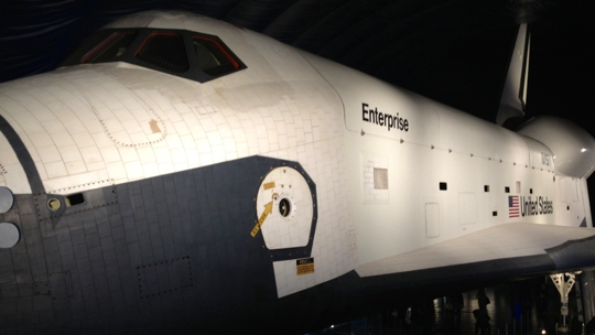 Space Shuttle USS Enterprise