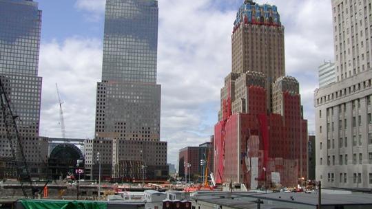 Ground Zero ca. sechs Monate nach den Anschlägen.