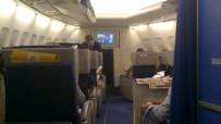 Business-Class Sitze.