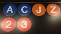 Metro-Linen werden in verschiedenen Farben und mit Buchstaben und Zahlen bezeichnet.