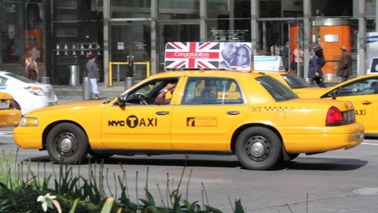 Die Yellow-Cabs sind die offiziellen Taxis in New York.