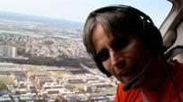 Der Autor bei einem der Rundflüge über New-York-City.
