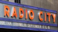 In der Radio-City-Music-Hall finden regelmäßig Konzerte statt.